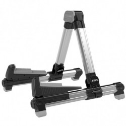 Floor guitar stand, foldable