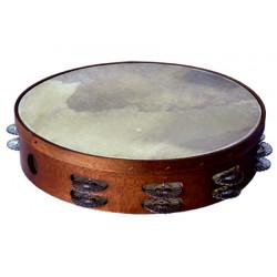 Asturian tambourine, double...