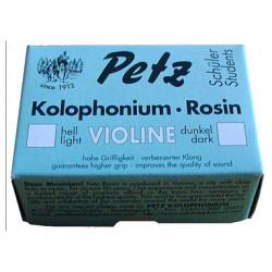 Violin rosin, dark