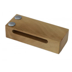 Woodblock, Beech, one groove