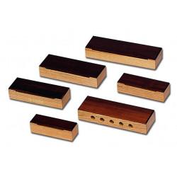 Set of 6 woodblocks, Ash...