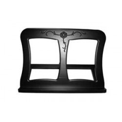 Black toptable stand