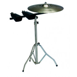 Cowbell and cymbal holder