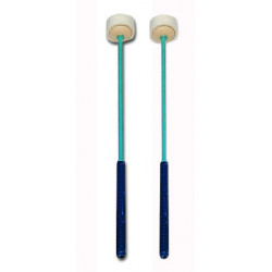 Pair of mallets for soprano...