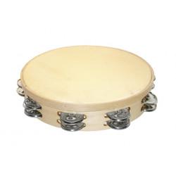 Tambourine Ø25 cm double...