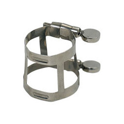 Clarinet clamp, silvered