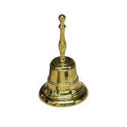 Bell 65x135 mm, bronze w/hand
