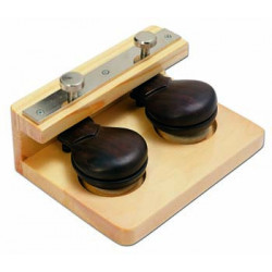 Two castanets on board for...