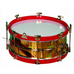 Lacquered brass drum Ø38.1...