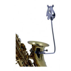 Soprano saxo marching stand...