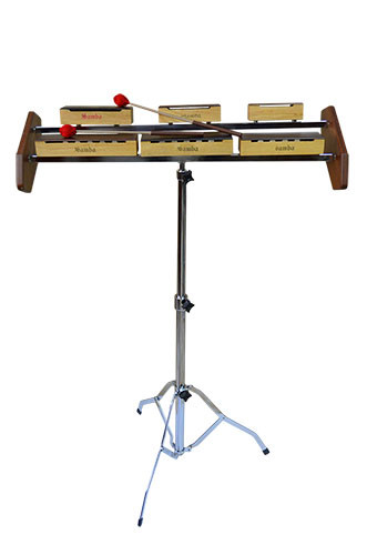 Percussion with holder