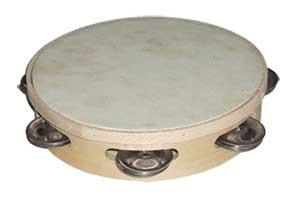 Single tambourines